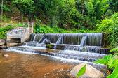Weir to irrigatewith  weir — Stock Photo