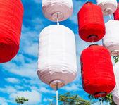 Chinese lanterns in Chiang Mai — Stock Photo