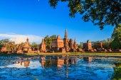 在泰国素可泰历史公园 — 图库照片