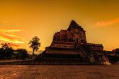 チェンマイで古代の仏塔 — ストック写真