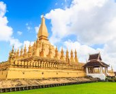 Wat Thap Luang in Vientiane — Stock Photo