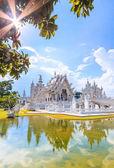 Wat Rong Khun of Chiangrai — Stock Photo