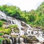 Mae Ya waterfall in Chiang Mai — Stock Photo #68791567