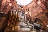 Buddha  at Sukhothai Historical park — Stok fotoğraf