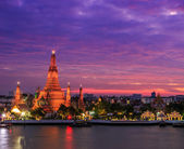 Chrám wat arun v thajsku — Stock fotografie