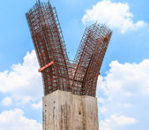 Iron Construction structure — Stock Photo