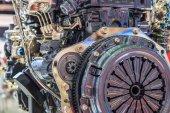 Industrial Car engine — Foto de Stock