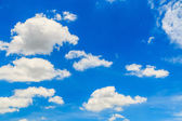 Sky with clouds  background — Stock Photo