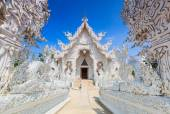 Wat Rong Khun in Thailand — Stock Photo