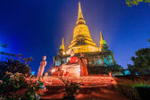 Candlelight Makha Bucha Day — Stock Photo