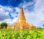 Shwedagon pagoda in Thailand — Stock Photo