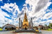 Shwedagon pagoda in Thailand — Stock fotografie