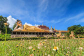 Reclining buddha in Thailand — Stock Photo