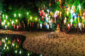 Loy Krathong festival in Chian  Mai — Stock Photo
