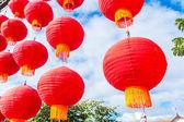 Farolillos chinos tradicionales — Foto de Stock