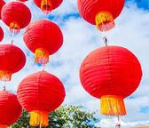Geleneksel Çince fenerler — Stok fotoğraf