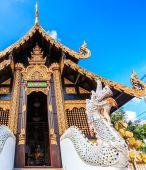 Wat inthakhin saduemuang — Stock Photo