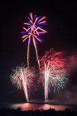 カラフルな休日の花火 — ストック写真