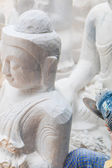 Marble of statue Buddha — Stock Photo