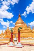 Храм Kuthodaw ориентир в Мандалай — Стоковое фото