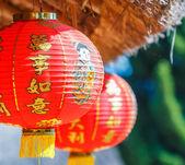 Chinese lanterns for decoration — Stock Photo