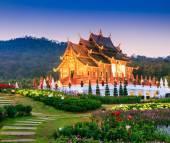 Temple Wat Ho kham luang — Stock Photo