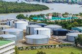 Oil plant at Bangkok city — Stock Photo