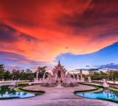 Templet Wat rong khun — Stockfoto