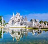 Wat Rong Khun Temple — Stock Photo