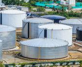 Oil tanks at Bangkok — Stock Photo