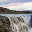 Famous Dettifoss is a waterfall of Iceland — Stock Photo