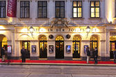 Theater in der Josefstadt of Vienna — Stock Photo