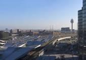 The new Main Railway Station of Vienna - Austria — ストック写真