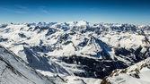 Beautiful view from Kitzsteinhorn peak in Alps — Foto de Stock