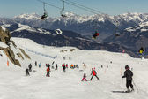 Zell am See - Kaprun ski region in Austria — Stock Photo