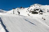 Salto esquiador — Foto de Stock