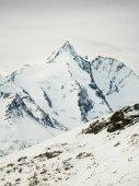 Highest peak of Austria, Grossglockner (3,798 m) — Stock Photo