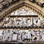 Notre Dame de Paris is a Gothic cathedral — Stock Photo #58399247