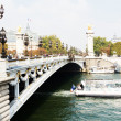 Постер, плакат: Le Pont Alexandre 3 in Paris