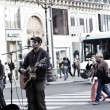 Постер, плакат: Parisian street actors