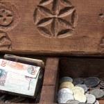 Box chest money — Stock Photo #61706935