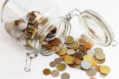 Tarro de dinero. — Foto de Stock