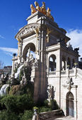 Monumental cascading fountain — Stock Photo