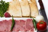 Ingredienti per cucinare quesadilla — Foto Stock