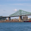 ������, ������: Jacques Cartier Bridge spanning the St Lawrence seaway in Montr