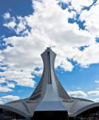 The tower of the Olympic Stadium in Montreal, Canada — Stock Photo