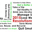Resolution for the new year 2015 new start — Stock Photo #57756787