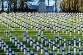 Cemetery world war one in France Vimy La Targette — 图库照片
