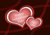Heart for a happy valentine's day illustration — Foto de Stock