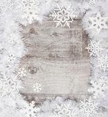 Christmas background frame — Stock Photo